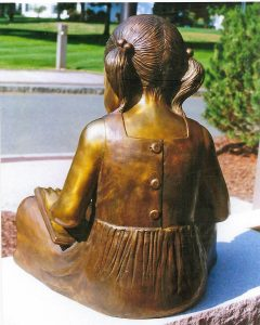 "Photo of sculpture piece ""Amy Toyen- September 11 Memorial"""