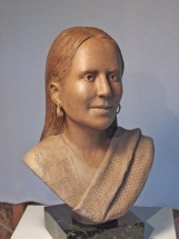 Photo of a sculpture of